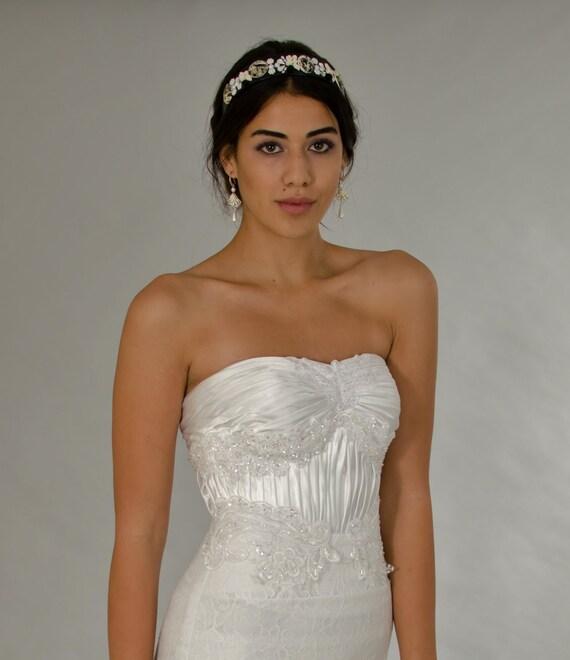 Classic Wedding Dress Lace Wedding Dress White Dress Etsy