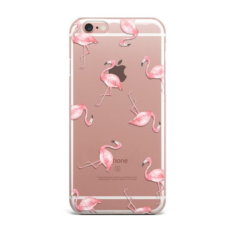 size 40 1281c 76da0 Flamingos iPhone Case Clear Transparent Flamingo Phone Cases Cover  5/5S/6/6S/6PLUS/7/7PLUS KYOUSTUFF