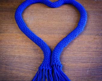 Loom Scarf with Fringe