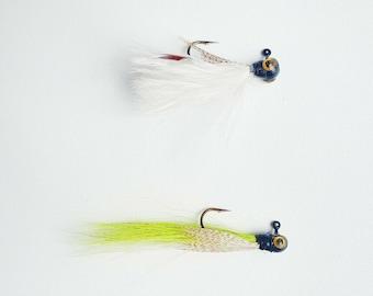 FISHIN ADDICT Nano fusion bass / perch / pike / trout jig fly 0.5g 30-50mm