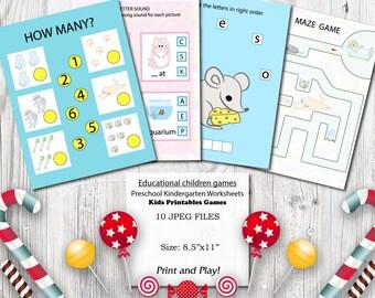 Cats Educational Printables Games For Preschool Kids Motor Skills Science Curriculum Kindergarten Worksheets Activities Clever