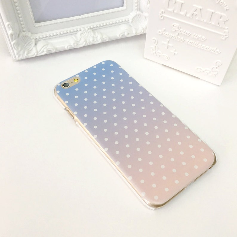 wholesale dealer 1475e be7f4 iPhone 8 case Rose Quartz Serenity Polka Dots iPhone X case iPhone 7 Plus  case iPhone 6s Samsung Note 7 case Samsung Galaxy S7 Edge case