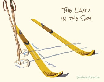 Land in the Sky Print