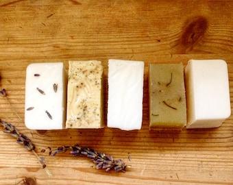 Natural Mini Bars Soaps Sample Size Natural Vegan Soap