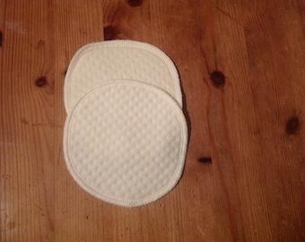 Organic Bamboo Pads Breastfeeding Pads Feeding Washable Breast Pads Soft Reusable Nursing Pad Zero Waste Cotton Rounds
