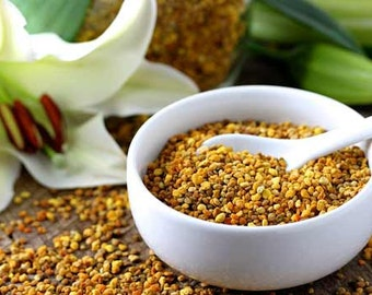 Natural Bee Pollen  Pure Bee Product Homemade Super food