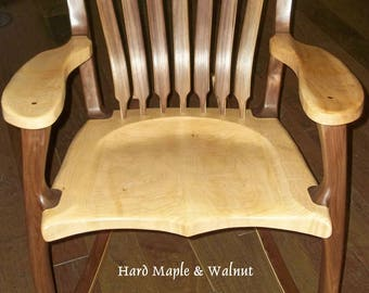 Maloof Inspired Heirloom Rocking chair