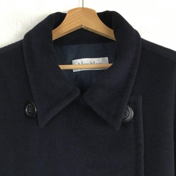 Max Mara blue wool and cachemire coat, Max Mara w… - image 3