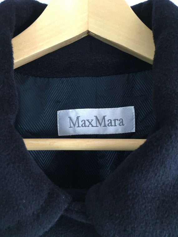 Max Mara blue wool and cachemire coat, Max Mara w… - image 6