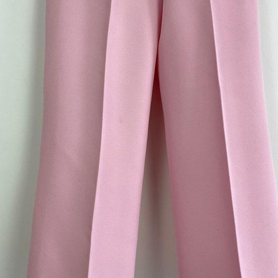 70s high waist pants, 1970s trousers, 70s wide le… - image 5