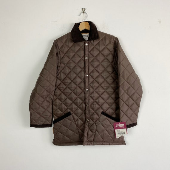 Vintage brown quilted jacket