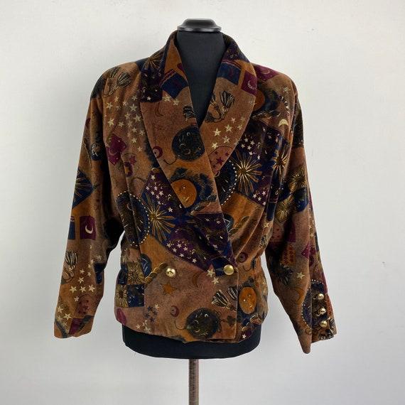 90s vintage Laurèl jacket, double breasted jacket,