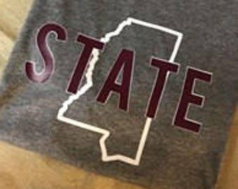2d86650474d Mississippi State University Shirt