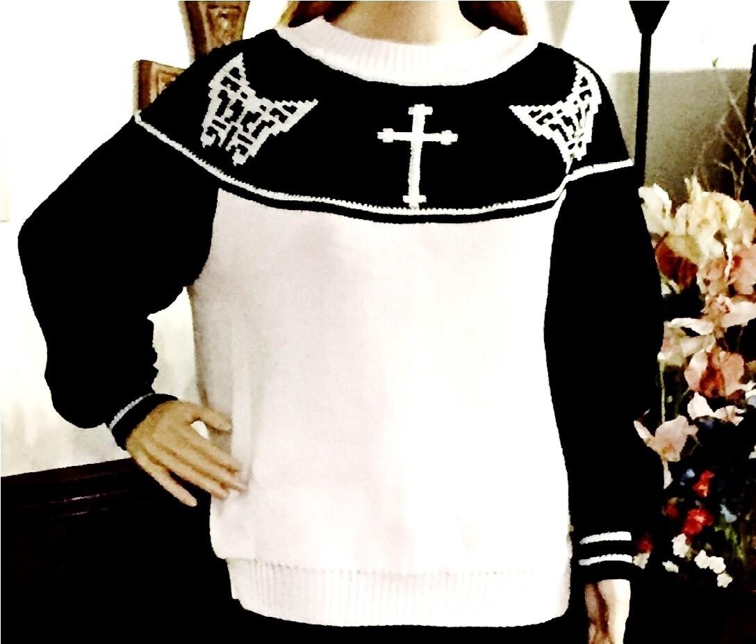11 Fairisle redondo yugo suéter Audio Tutorial para Passap   Etsy