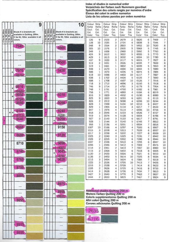 Gutermann 100/% Cotton 100 Metre Spool Colour 1026