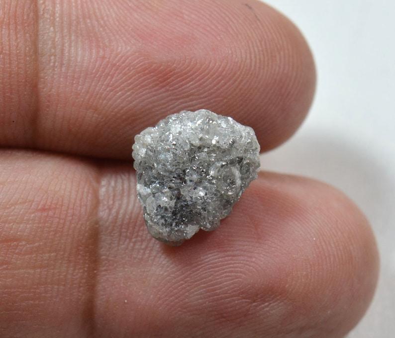 7fc65d5587 5.30 carats diamant brut naturel gris diamant diamant brut | Etsy