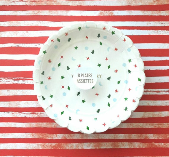 il_570xn - Decorative Christmas Plates