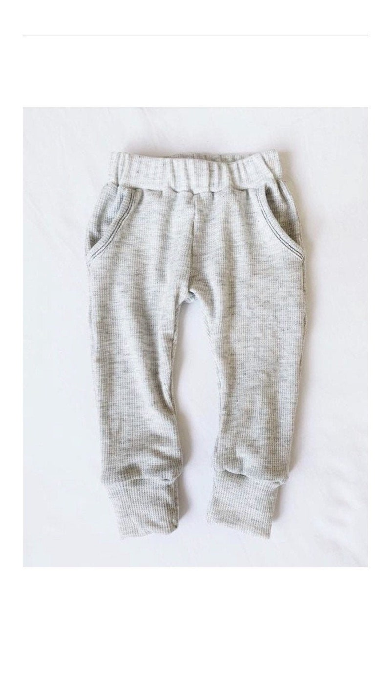 Thermal Joggers  MULTIPLE COLORS functional pockets image 0