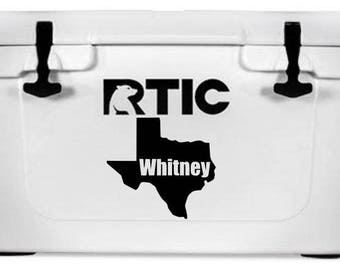 Cooler Decal Gifts for Him Property of Decal Personalized Decal Cooler Stickers Cooler Name Decal Die Cut Decal Cooler Identification
