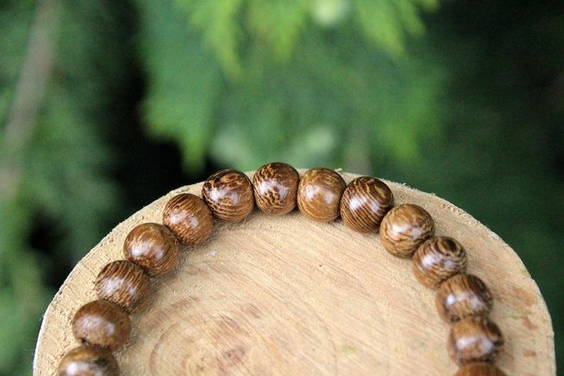 Wooden Jewelry Handmade  Bracelet Robles wood bead bracelet Wood Bead Bracelet Bead Bracelet Natural Wood Beads Men/'sWomen/'s Bracelet