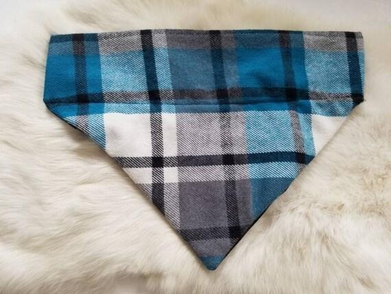 FRENCH COUNTRY CHARM reversible collar bandana
