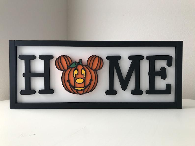 Interchangeable mouse head home sign Home Seasonal image 0