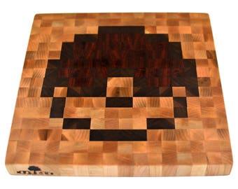 Pixel Art Cutting Board - Pokeball