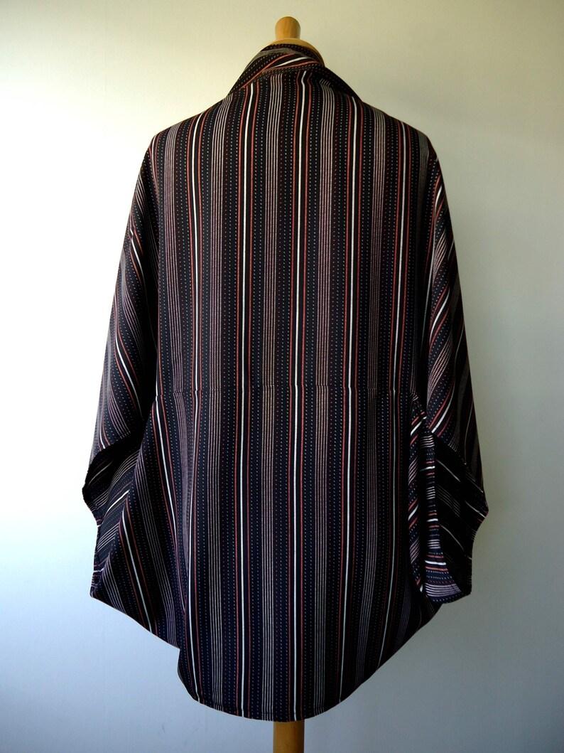 Bolero jacket striped Dafne kimono