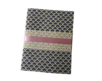 Asiana fabric notebook cover