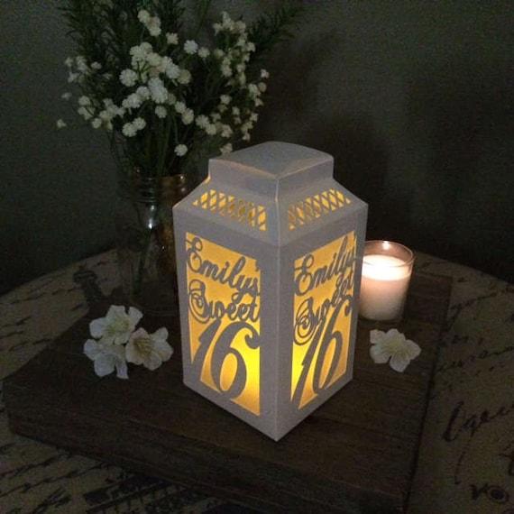 Custom sweet decorations centerpiece paper