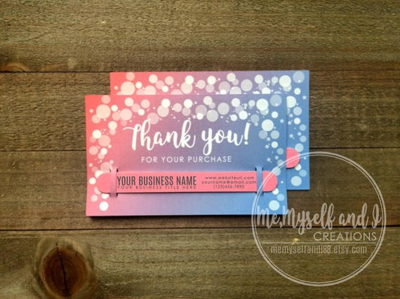 Independent Fashion Consultant Thank You Cards With Etsy