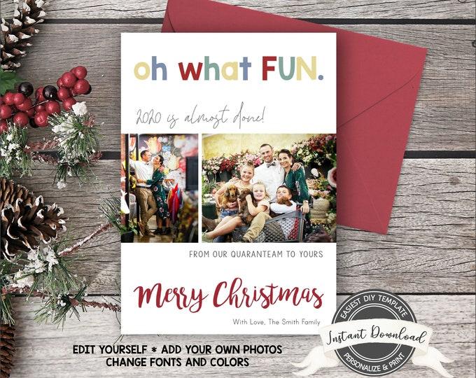 2020 Photo Christmas Card | Christmas Photo Card