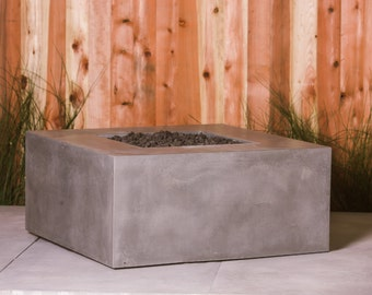Bedford Outdoor Concrete Firepit Firebowl Fire Feature