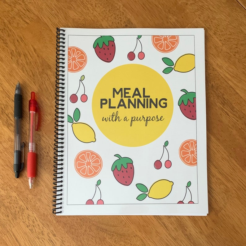 Meal Planning with a Purpose  Two Week Meal Planner  One image 1