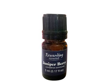 Juniper Berry Oil 100% Pure Therapeutic Grade by Rewarding Essentials US Seller