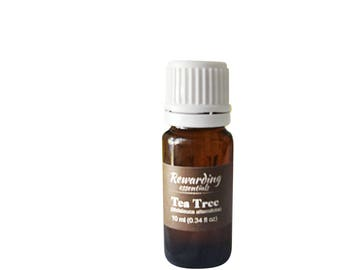 Tea Tree (Melaleuca alternifolia) 100% Pure Natural & Therapeutic by Rewarding Essentials US Seller