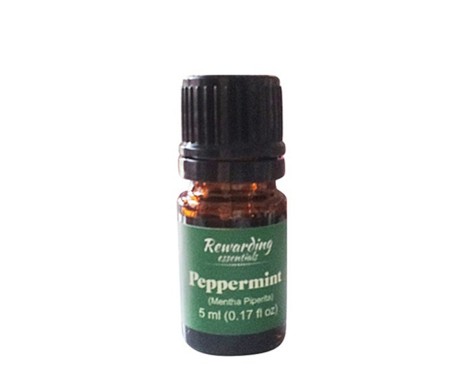 Peppermint Essential Oil 100% Pure Therapeutic Grade by Rewarding Essentials