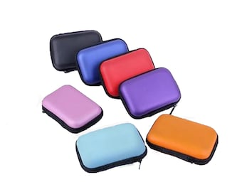 New Multi-purpose Carrying Case Essential Oil Pouch fits (4) 5 ml  US Seller