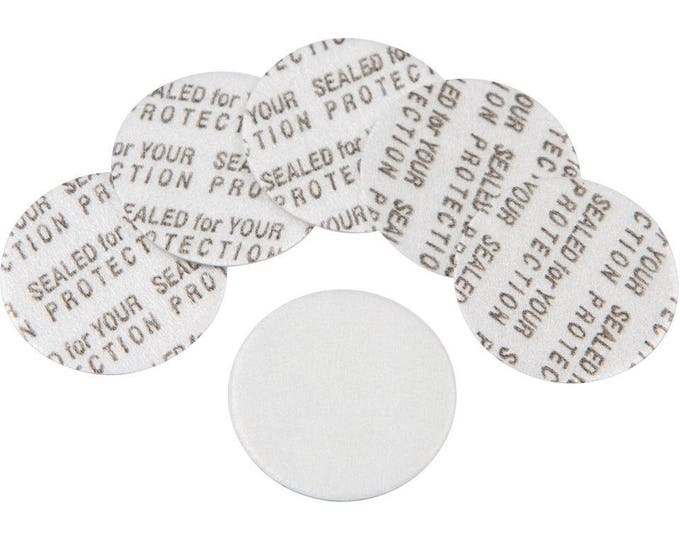20mm Pressure Sensitive PS Foam Cap Liners Seal Tamper Seal Sealed for your Protection US Seller