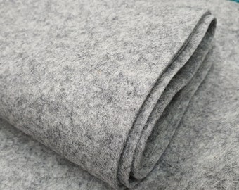 Wool Felt - 100% Wool - Fossil G6 - Sold By The Quarter Meter