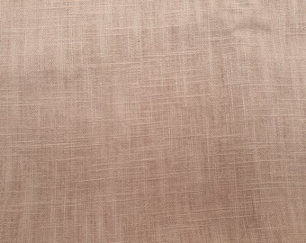 Stone Linen Fabric