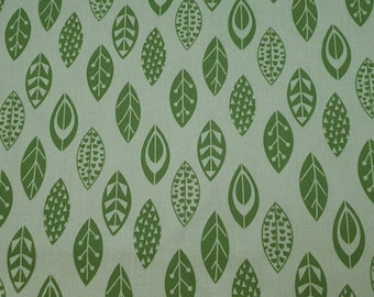 Green Leafy Meadow Fabric 100% Cotton - Quilting - Sewing - Patchwork - English Paper Piecing - Slow Stitching