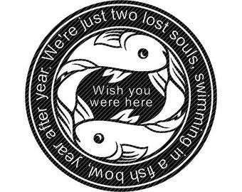 Fish Bowl Clipart Etsy