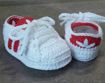 5c2c3ede75d95 Crochet baby shoes | Etsy