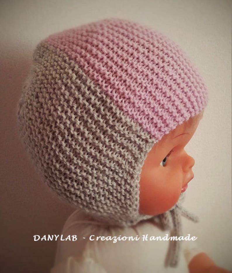 Ready To Ship Newborn Hat 0 3 Months Cappellino Neonato 0 3 Etsy