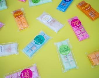 Coastal Dream Meltbars - Wax melts - Snapbars - Highly scented - vendor - Yankee - Glitter - 40 hours - GlowHush -  Valentines