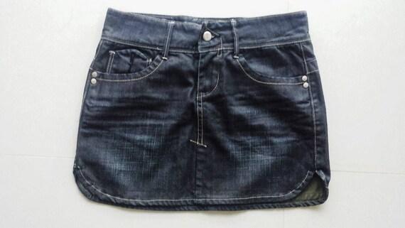 Womens Trinity Sample Denim mini cargo Skirt BNWOT Size 8, One of a kind!