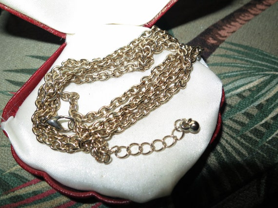 Beautiful  vintage goldtone chain for necklace 30""