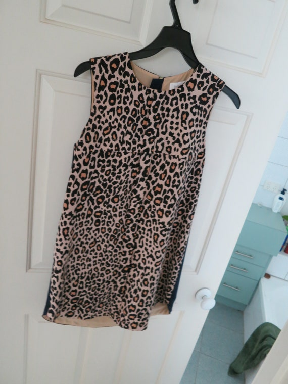Fabulous Finders Keepers Leopard animal print shift dress Size S