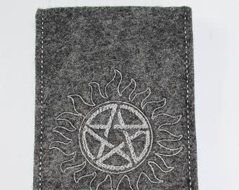 Supernatural inspired cell phone pouch - Anti Possession